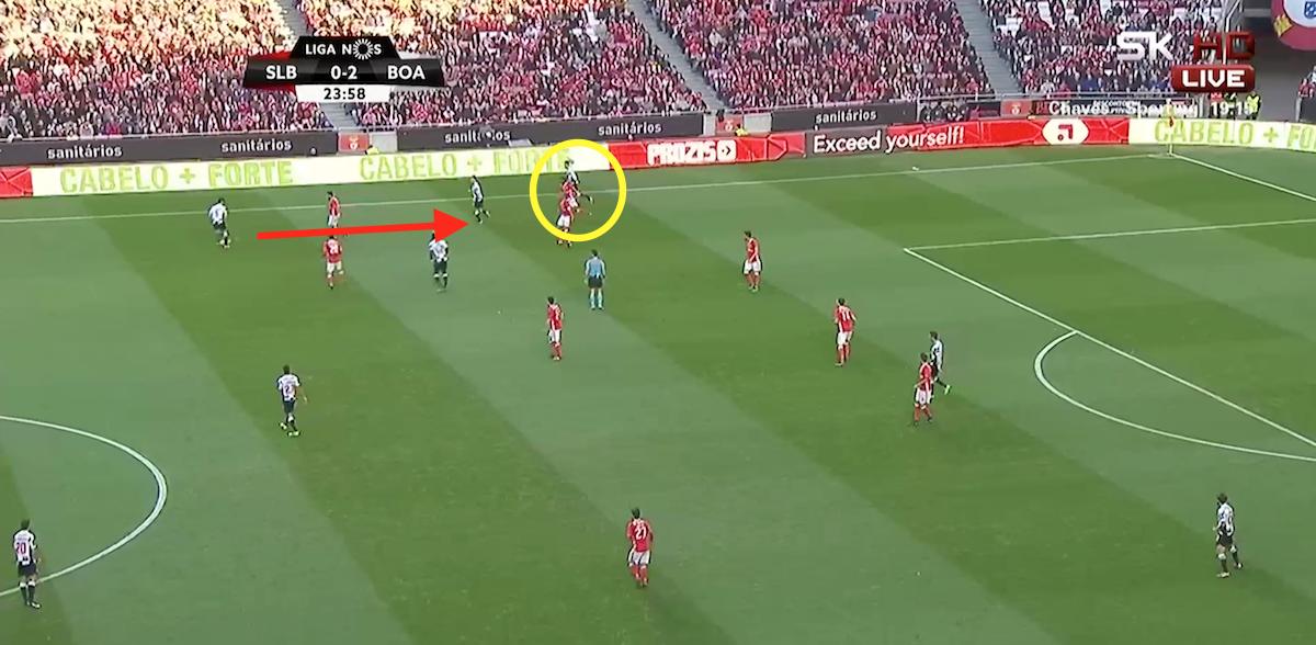 Semedo needs to improve defensively