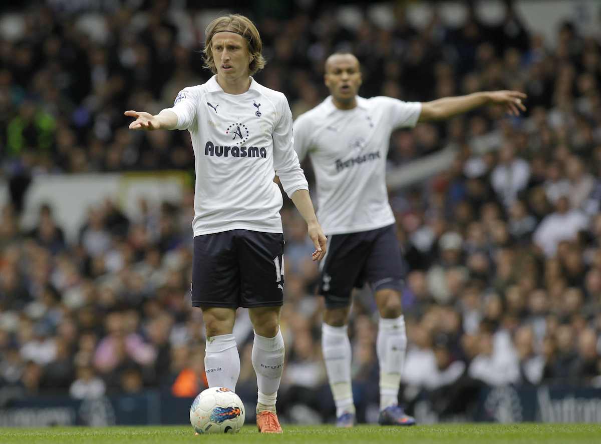 Tottenham Hotspur's Luka Modric