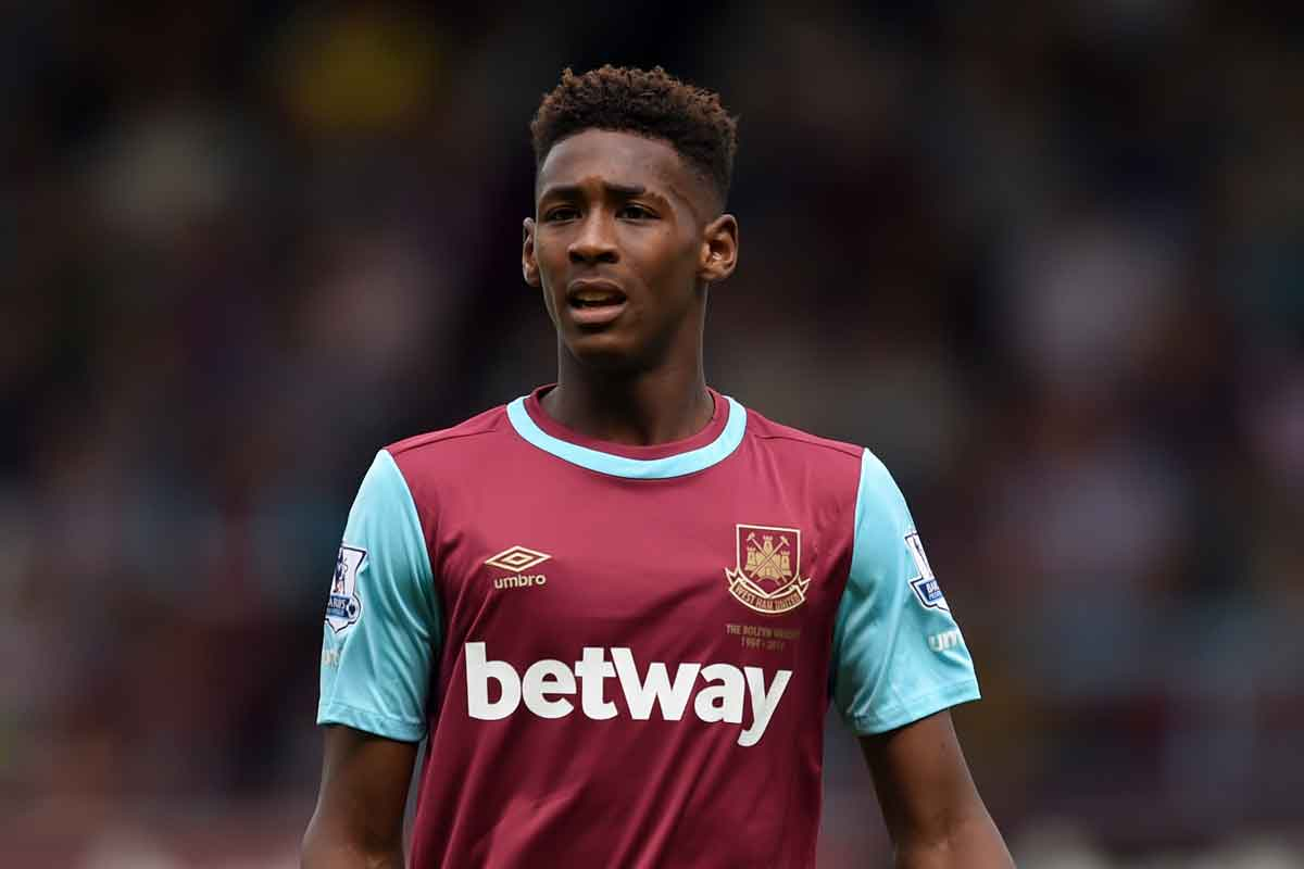 West Ham defender Reece Oxford, linked with Rangers