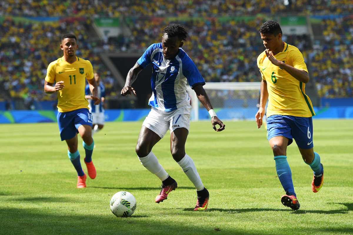 Brazil vs Honduras - Semi Final: Men's Football - Olympics: Day 12