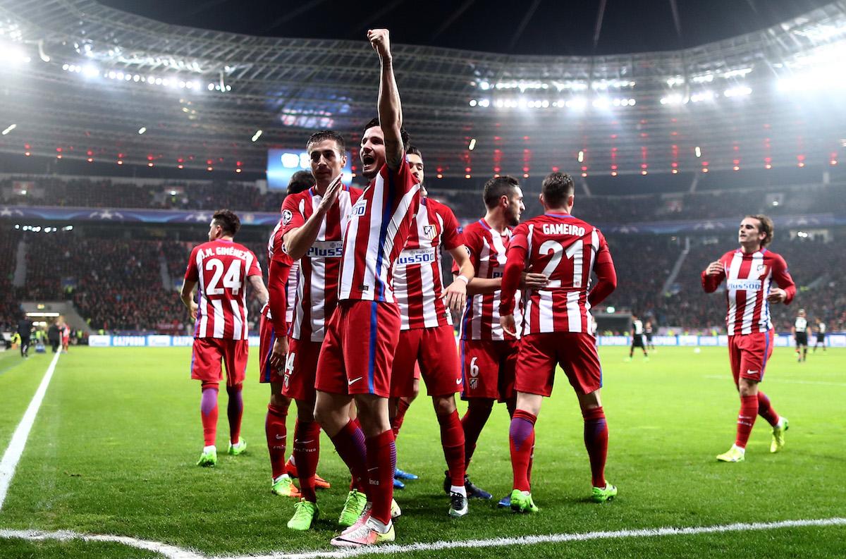 Bayer Leverkusen v Club Atletico de Madrid - UEFA Champions League Round of 16: First Leg