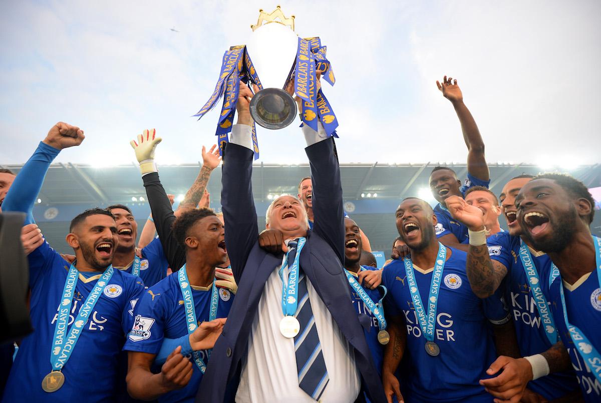 Leicester City Premier League title win