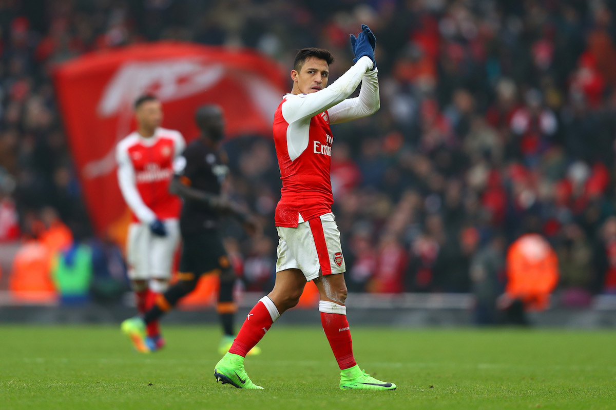 Alexis Sanchez is Arsenal's great hope