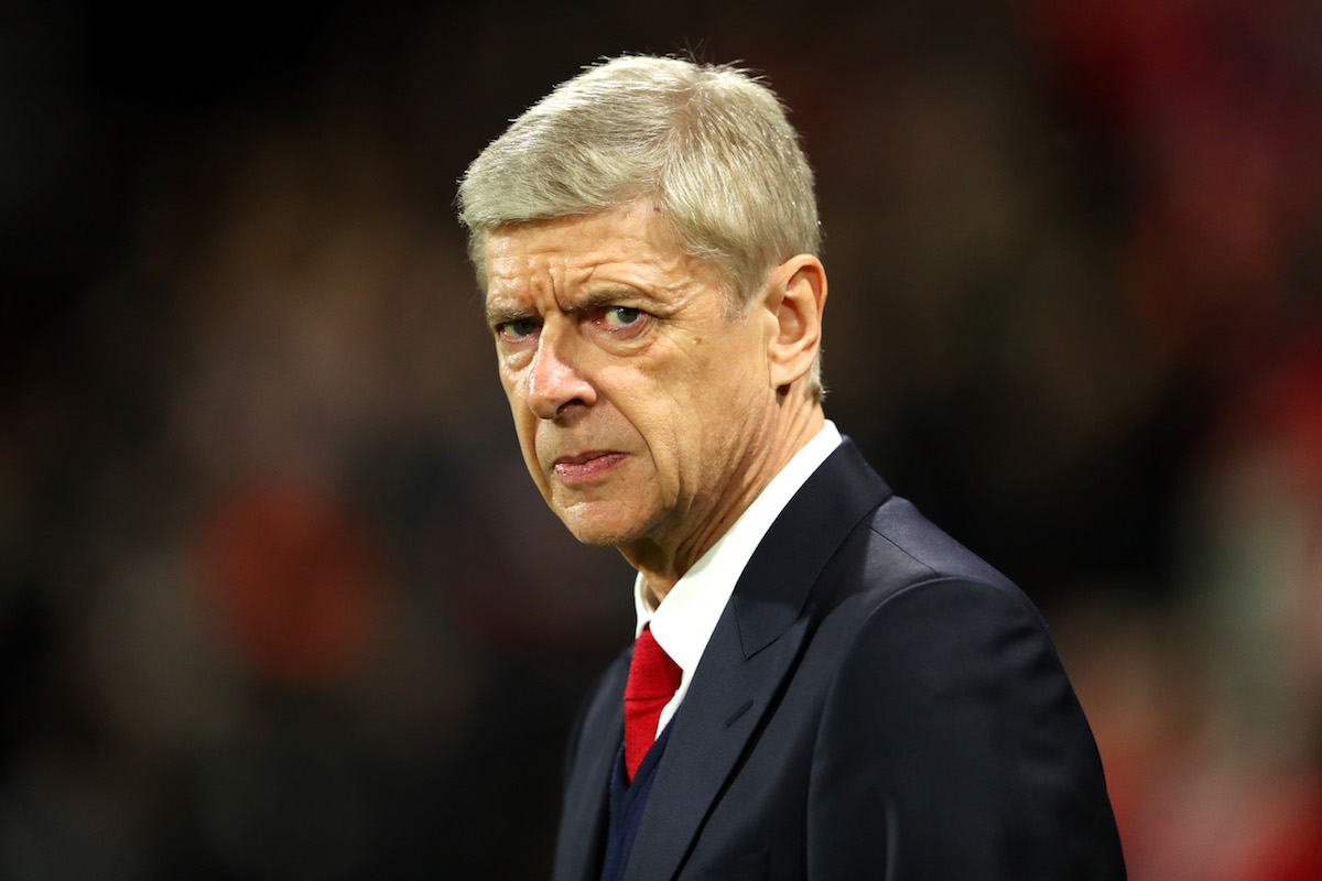 Arsene Wenger, Manager of Arsenal looks on prior to the Premier League match between AFC Bournemouth and Arsenal
