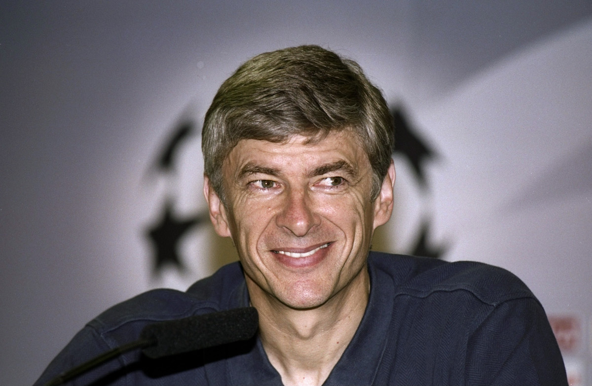 Arsene Wenger has a legacy in the Champions League