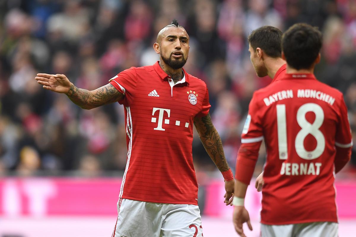 Arturo Vidal is vital for Bayern Munich.