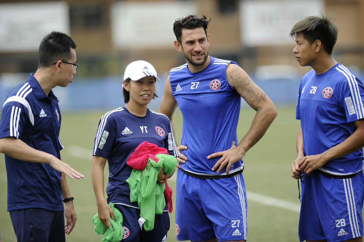 Eastern Long Lions coach Chan Yuen-ting