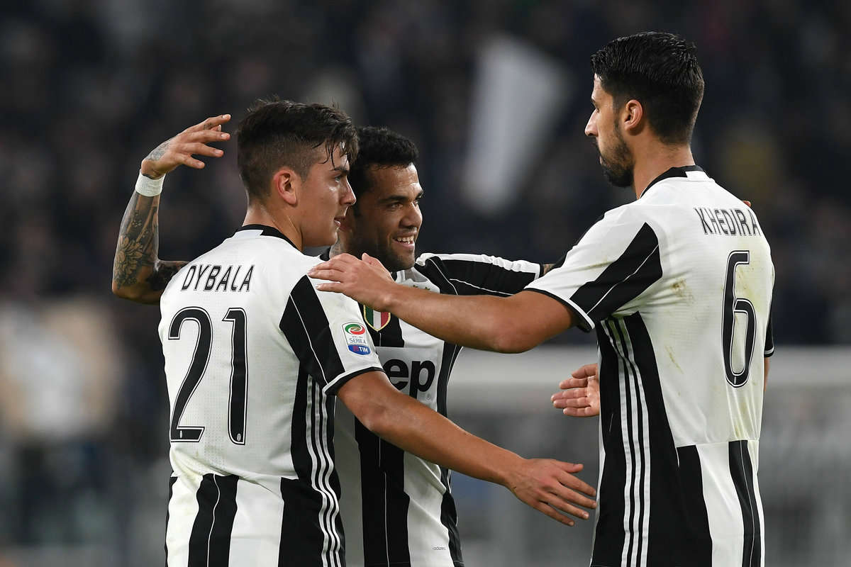Serie A review: Dybala celebrates scoring for Juventus
