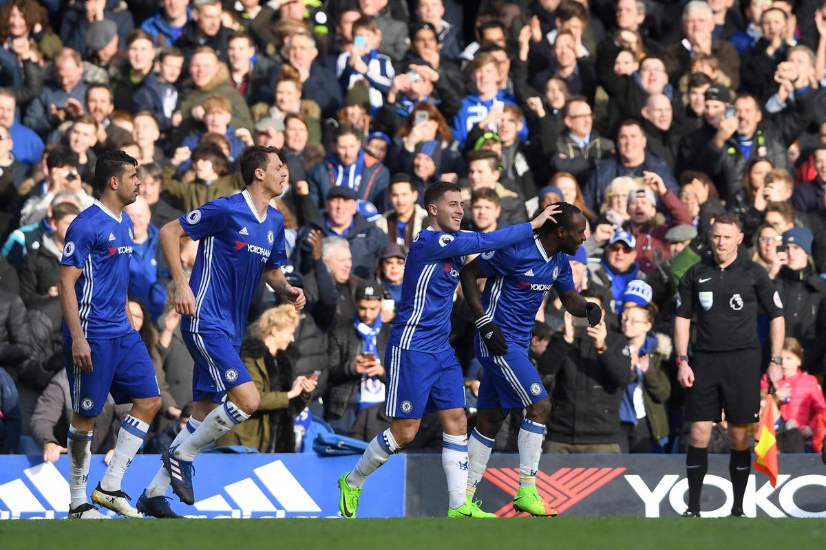 Eden Hazard has been key to Chelsea's title challenge