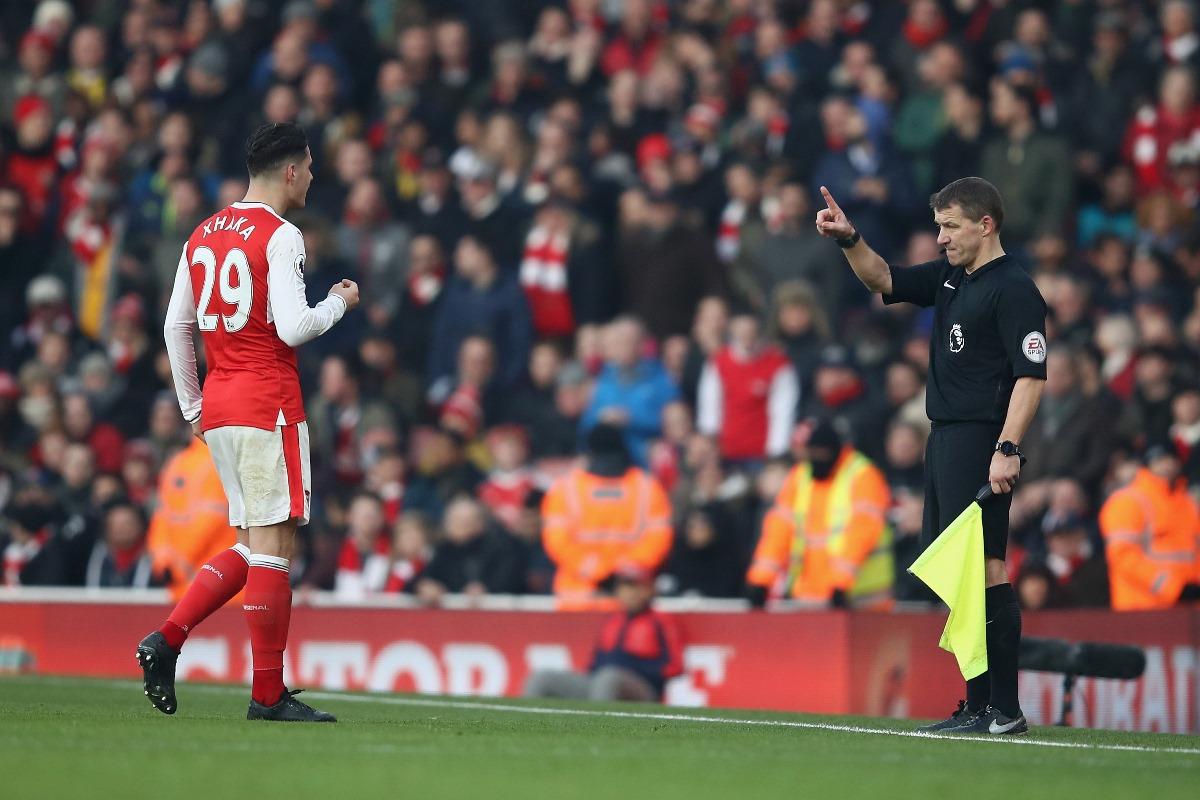 Granit Xhaka has struggled for Arsenal