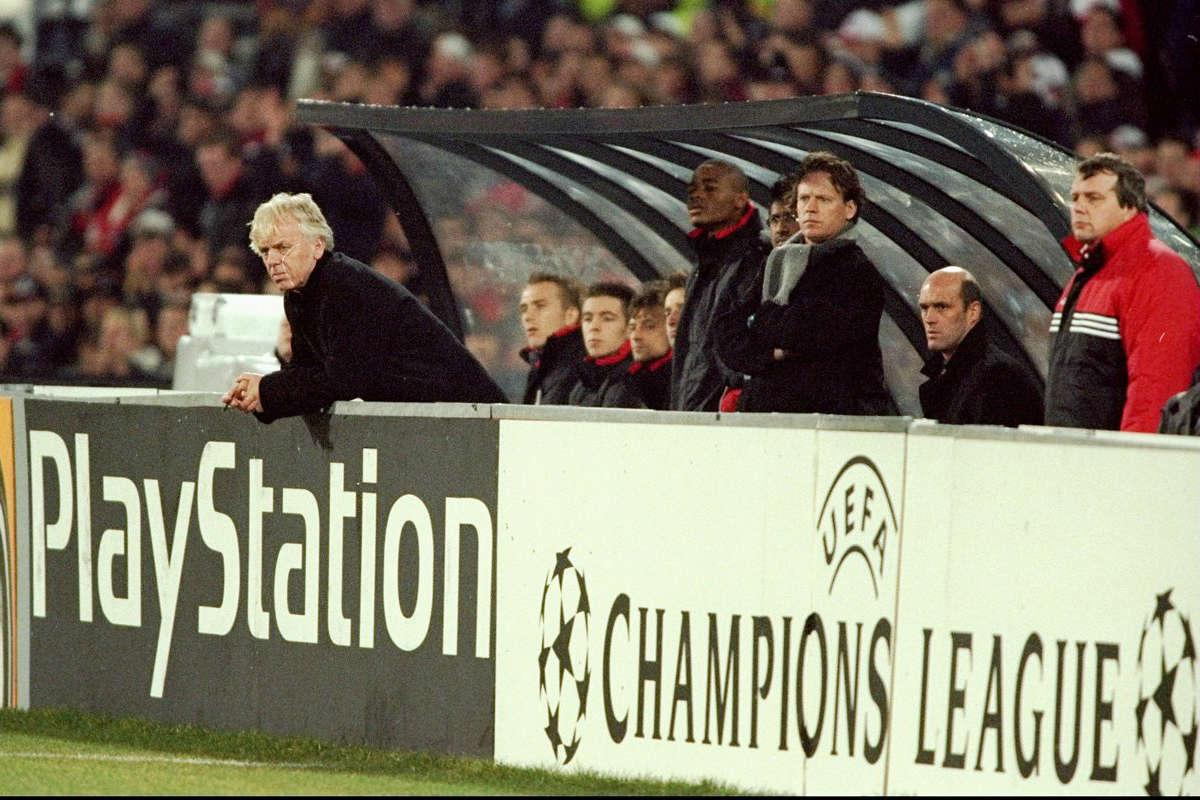 Feyenoord manager Leo Beenhakker