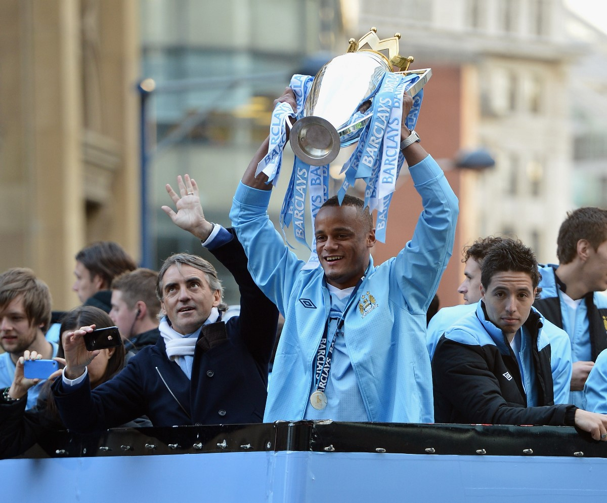 Manchester City's Premier League title win in 2012