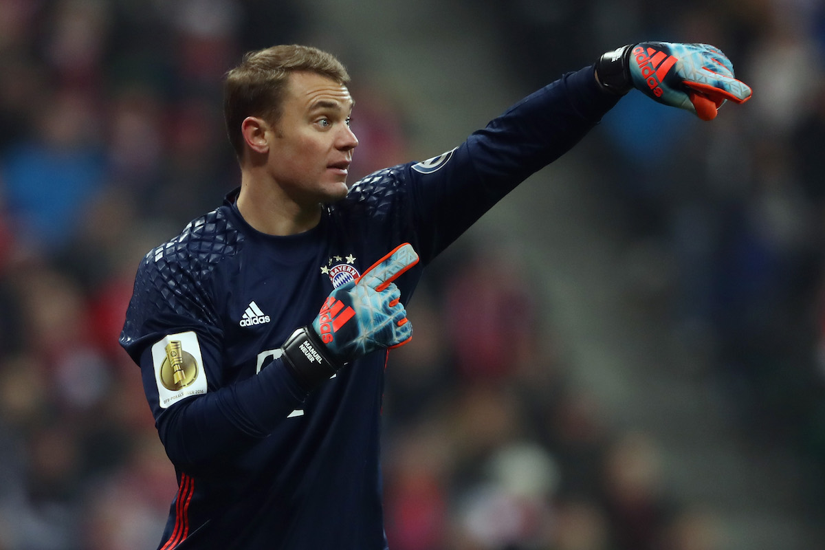 Manuel Neuer is one of the best goalkeepers in the world.