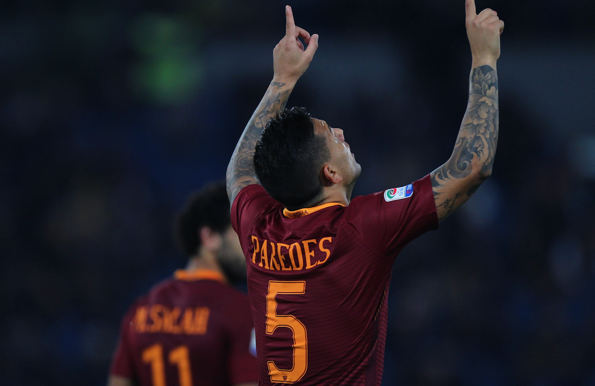 Liverpool may move for Roma's Leandro Paredes