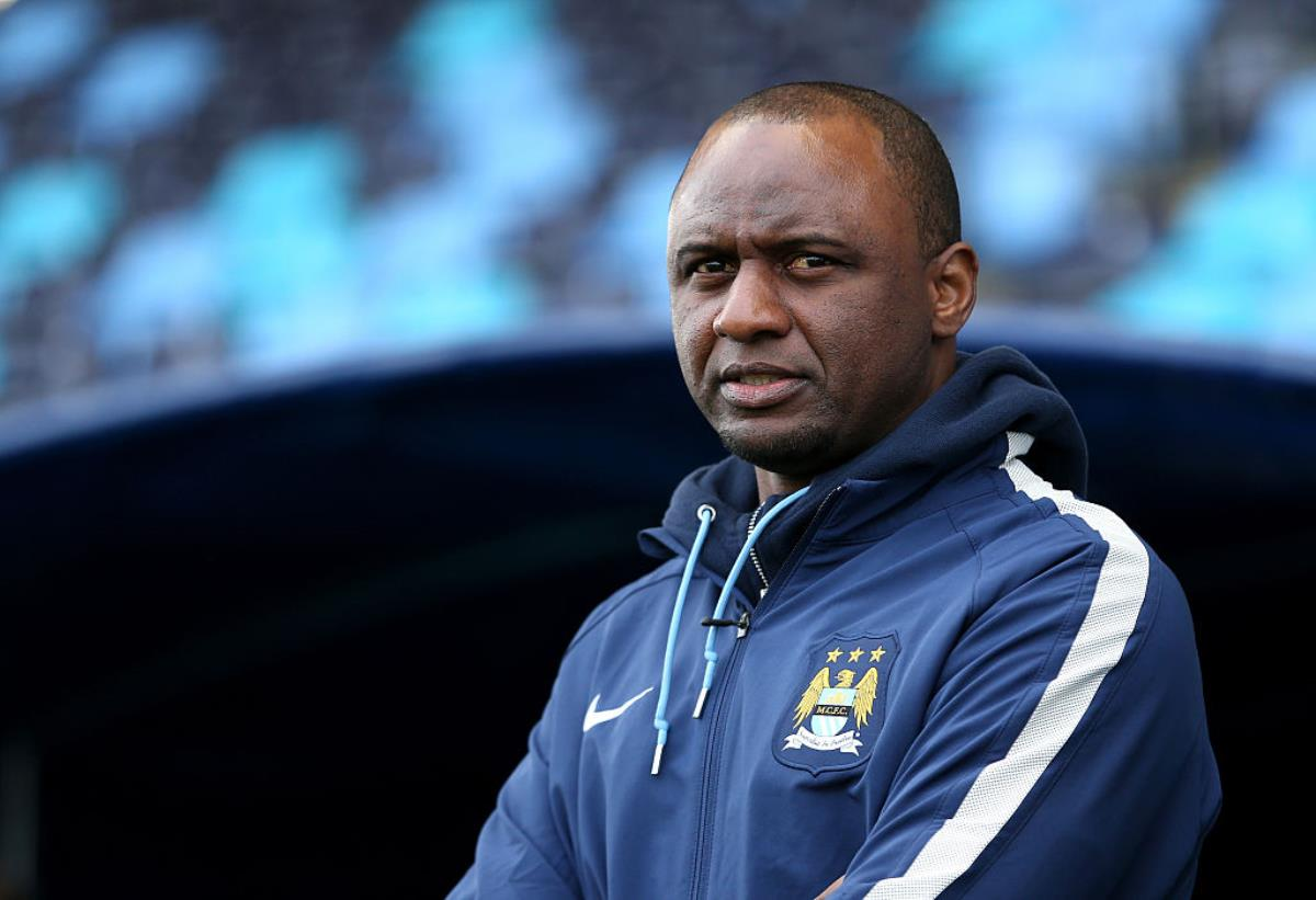 Patrick Vieira is coaching New York City in the MLS