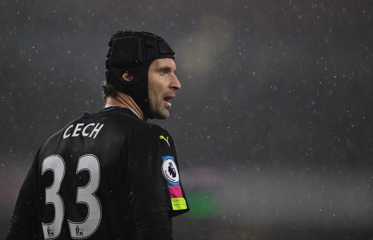 Petr Cech was let go by Chelsea.