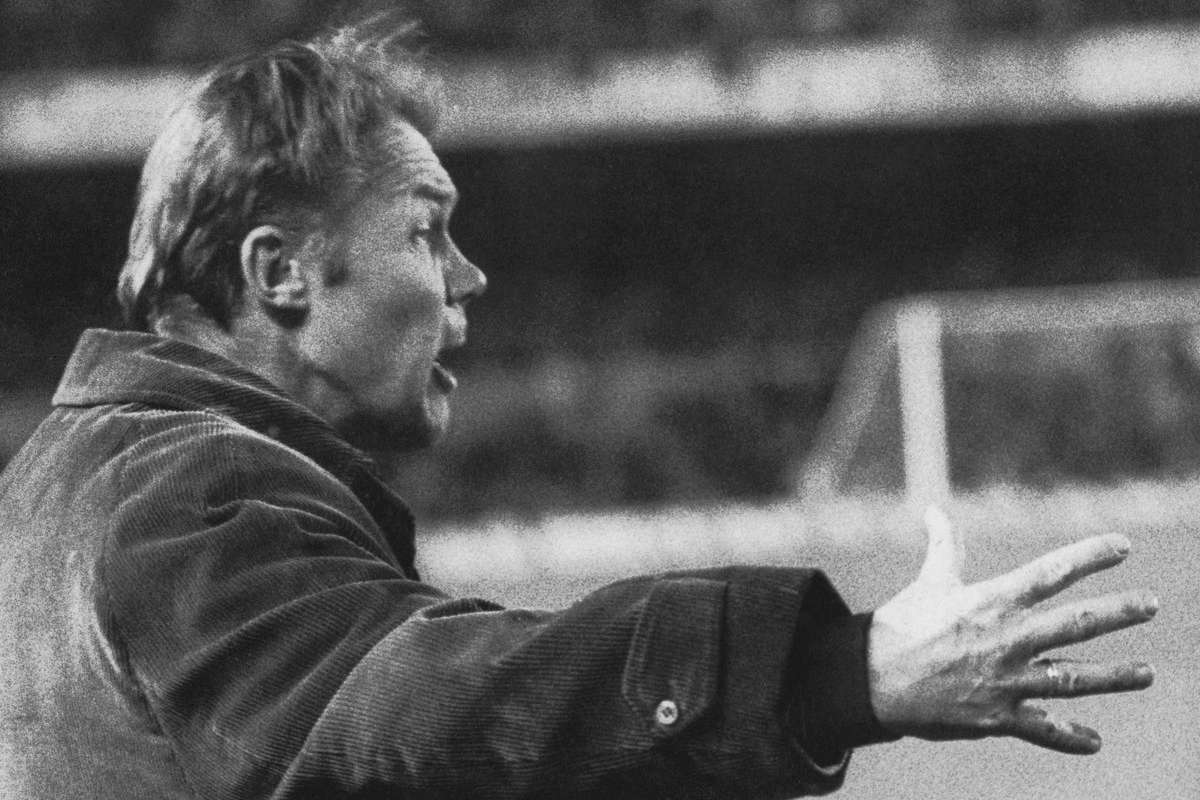 Dutch manager Rinus Michels