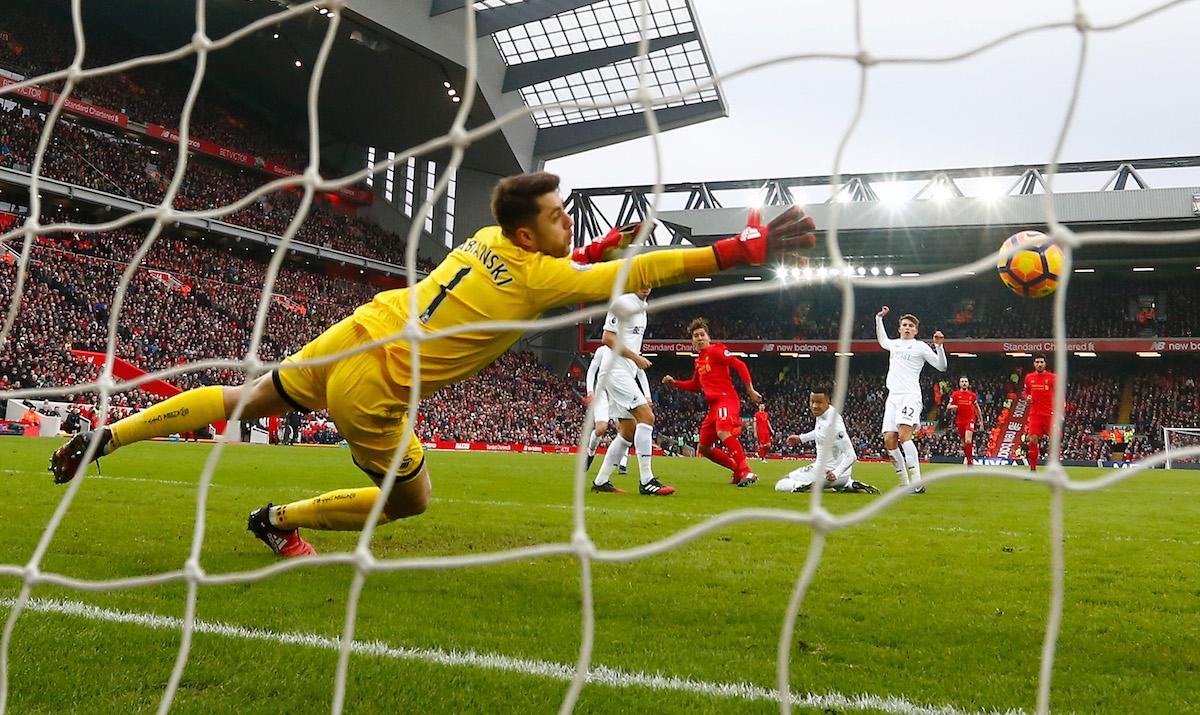 Liverpool v Swansea City - Premier League