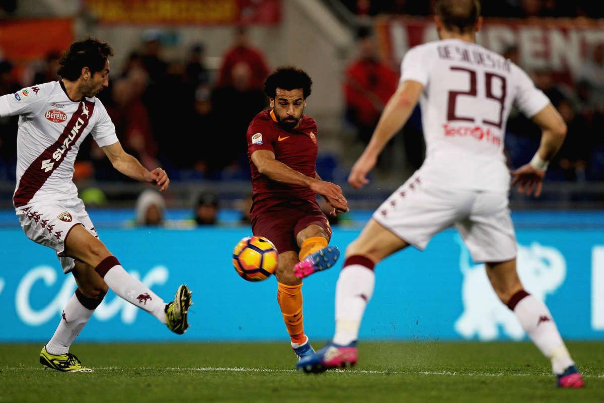 Roma v Torino in Serie A