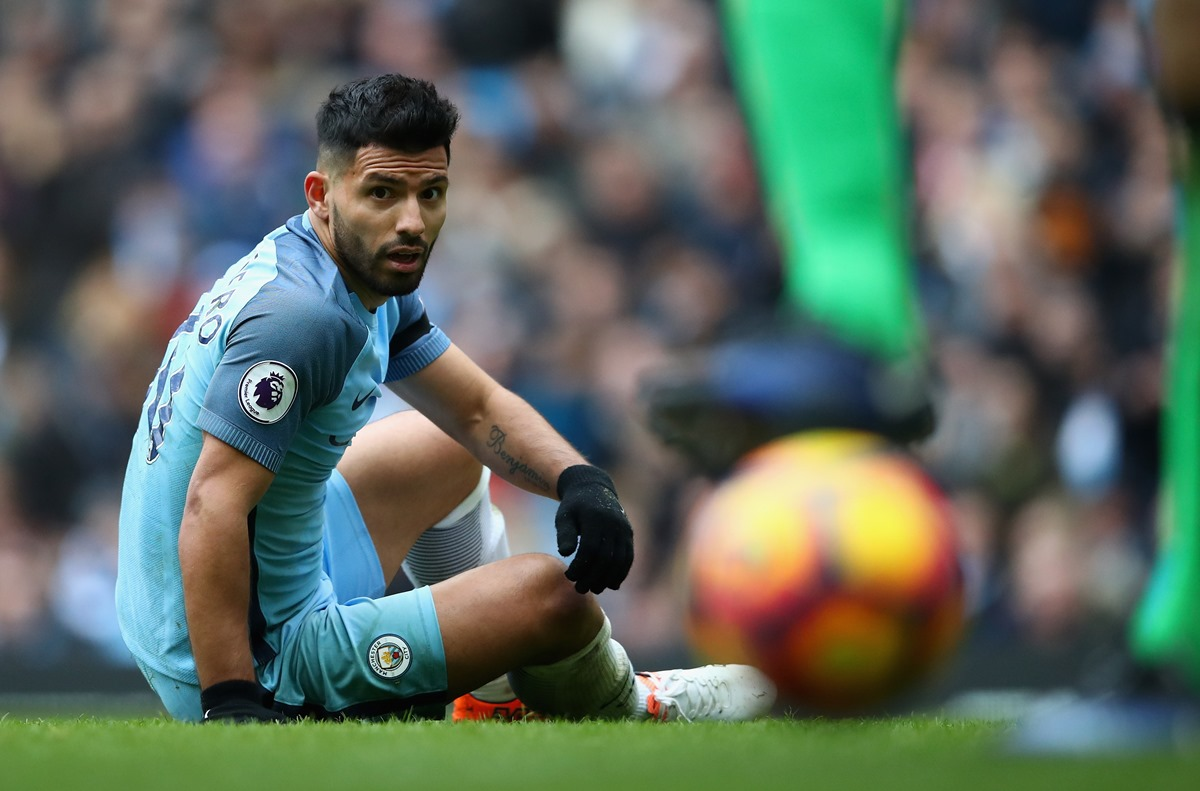 Sergio Aguero could be a factor in the title race