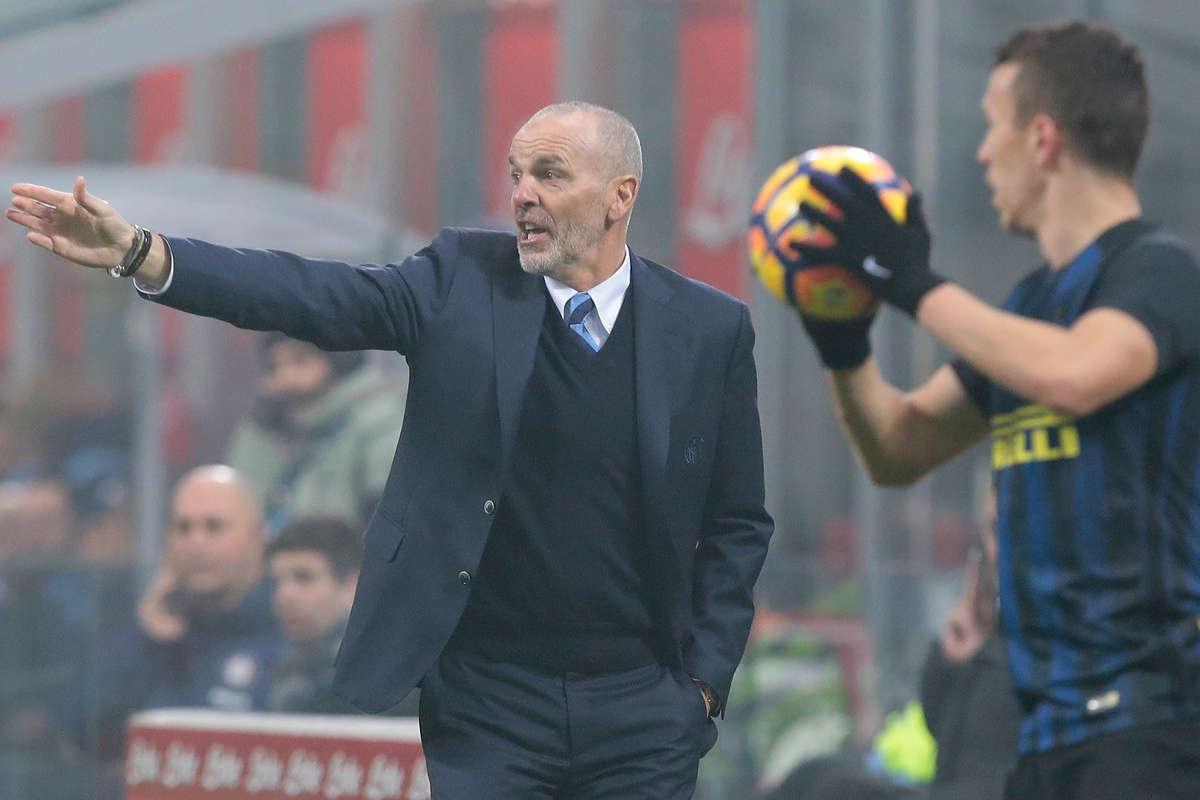 Inter Milan manager Stefano Piolli