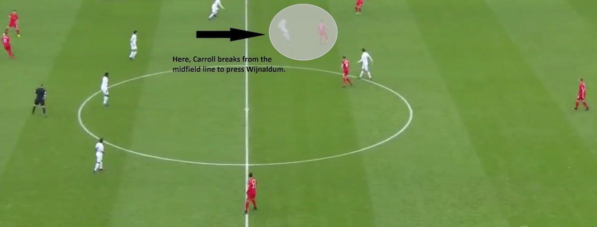 Swansea ball movement