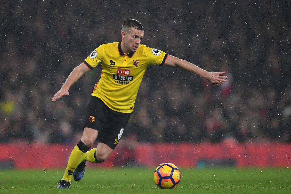 On-loan Watford midfielder Tom Cleverley used to play for Manchester United