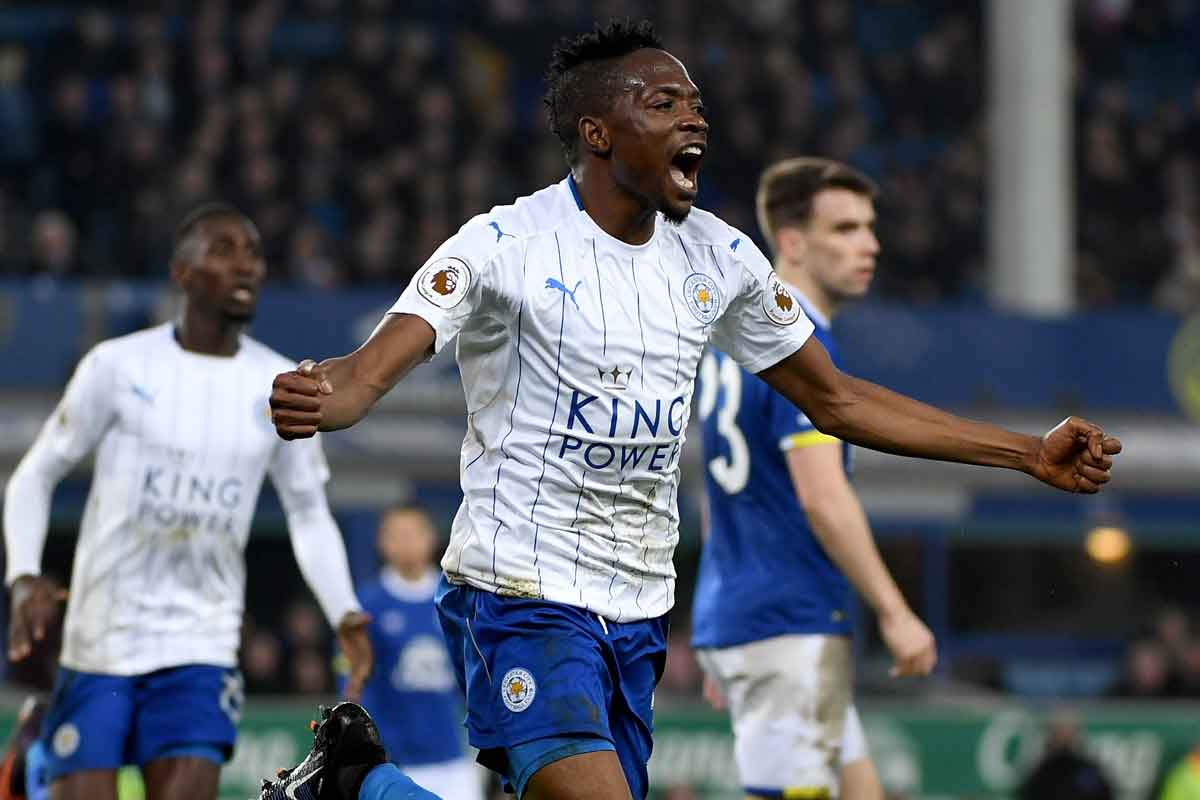 Leicester's Ahmed Musa