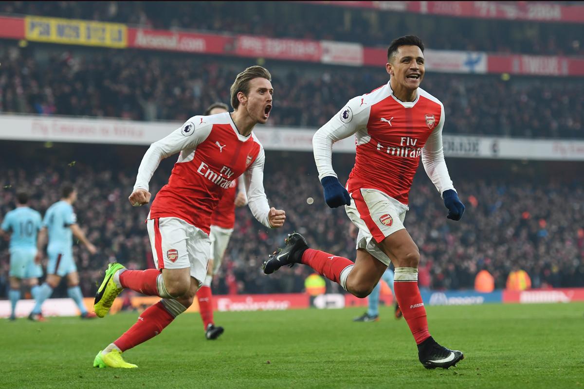 Arsenal forward Alexis Sanchez