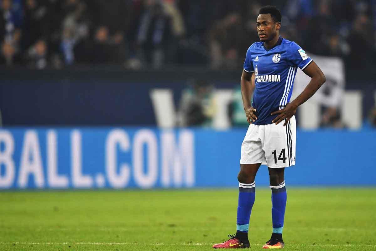 Baba Rahman, on loan at Schalke from Chelsea