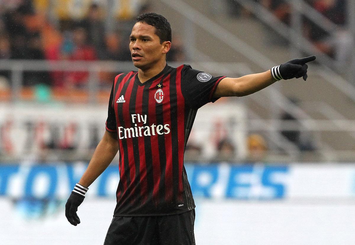 Carlos Bacca of AC Milan