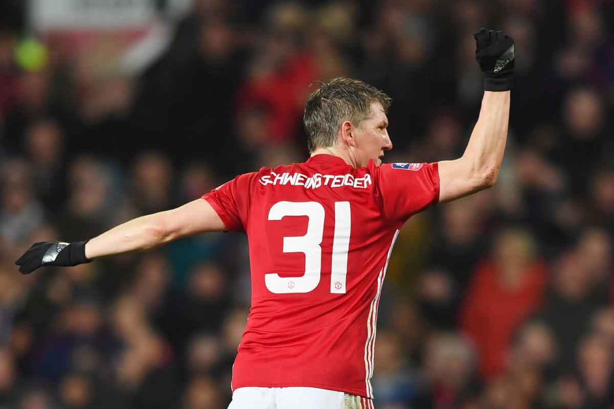 Manchester United midfielder Bastian Schweinsteiger, linked with Chicago Fire
