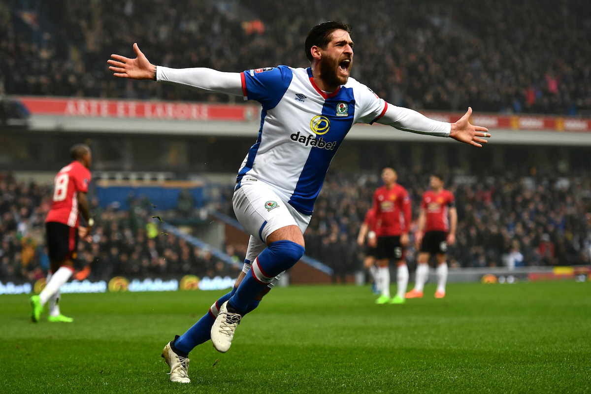 Danny Graham of Blackburn Rovers