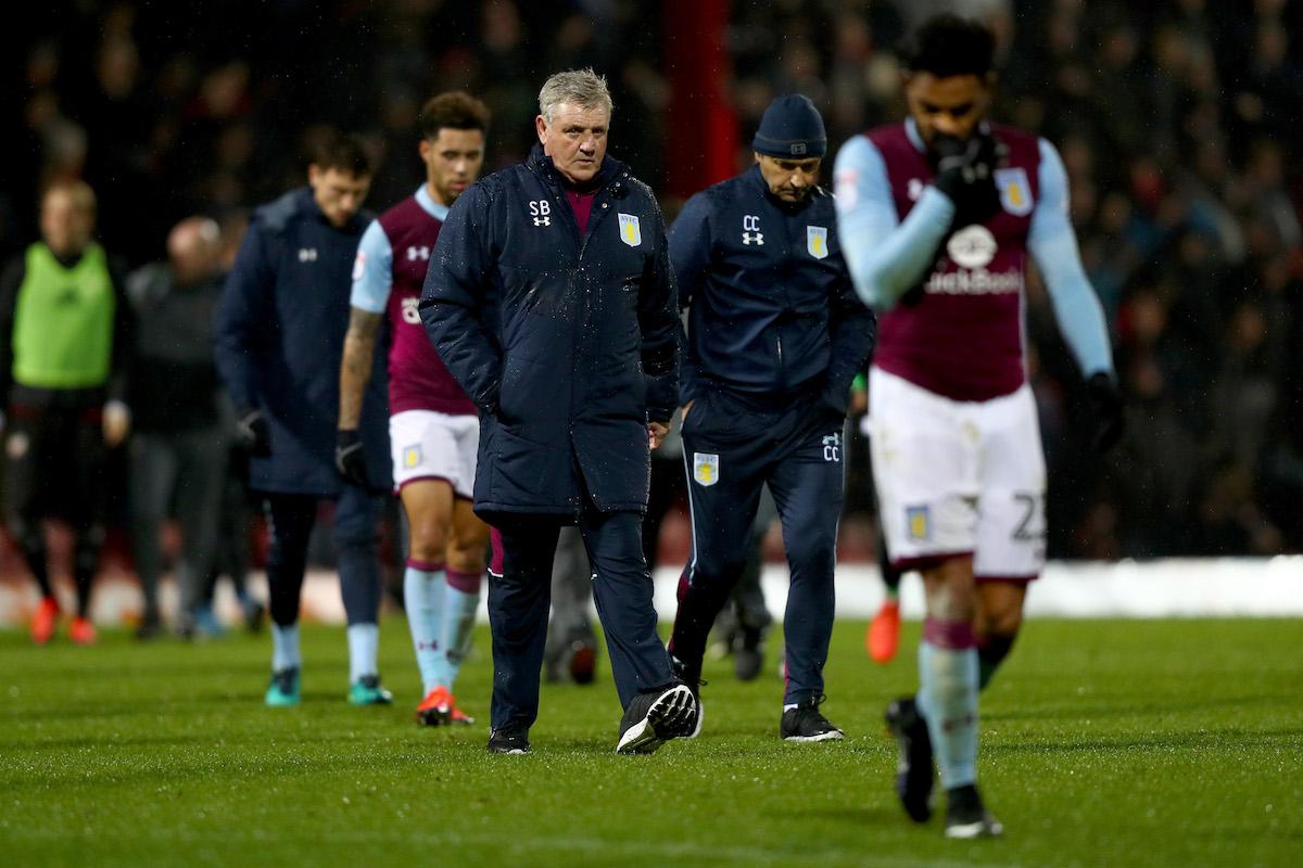 Steve Bruce of Aston Villa