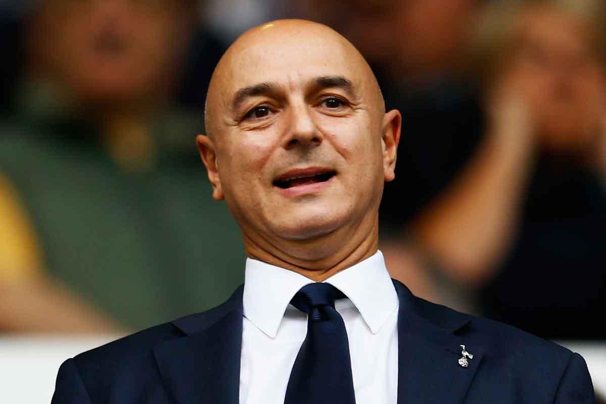Tottenham chairman Daniel Levy