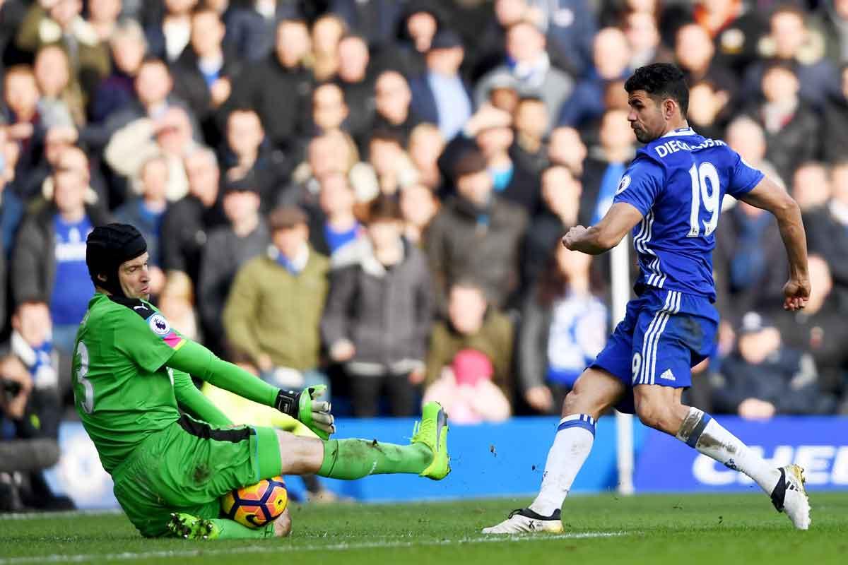 Chelsea forward Diego Costa