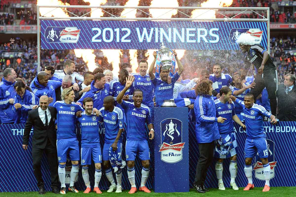 Chelsea's FA Cup win in 2012