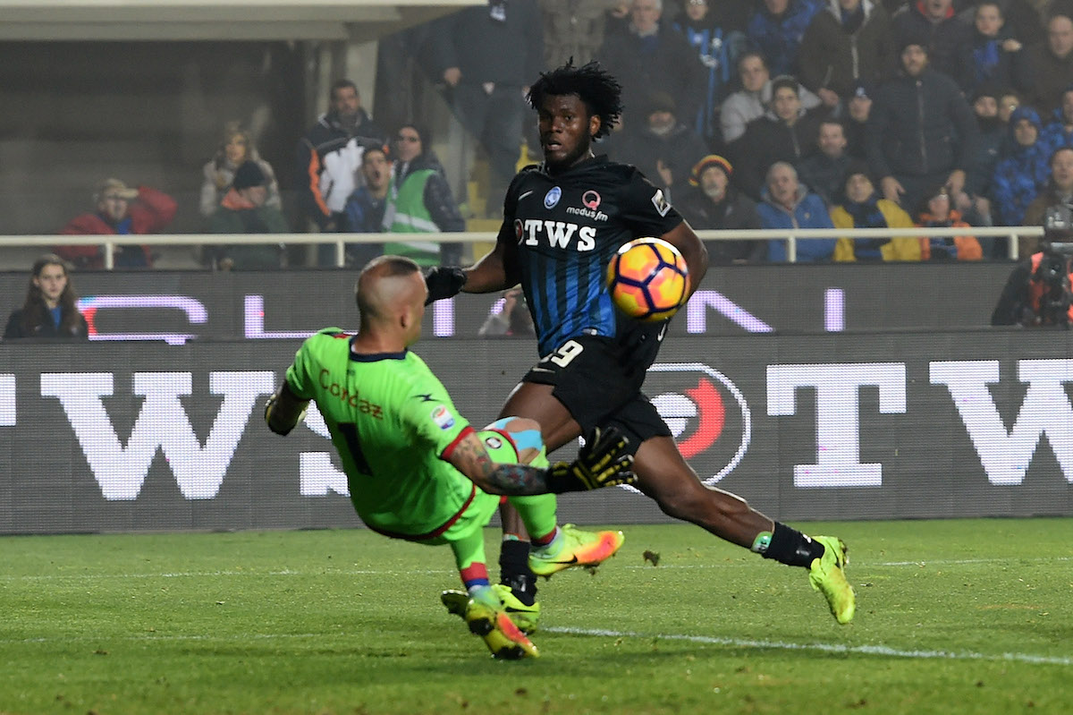 Liverpool have been linked with Atalanta's Franck Kessie