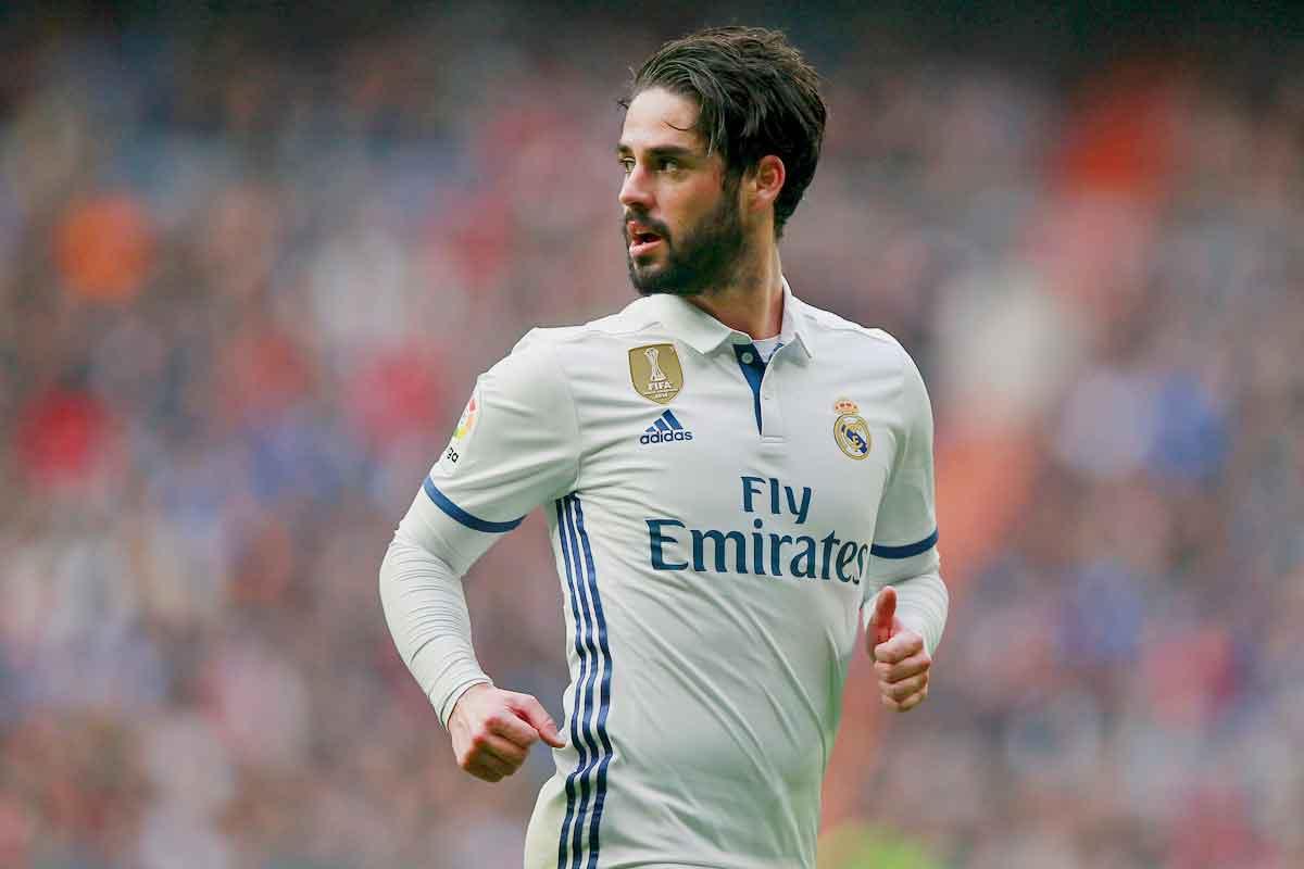Isco at Real Madrid