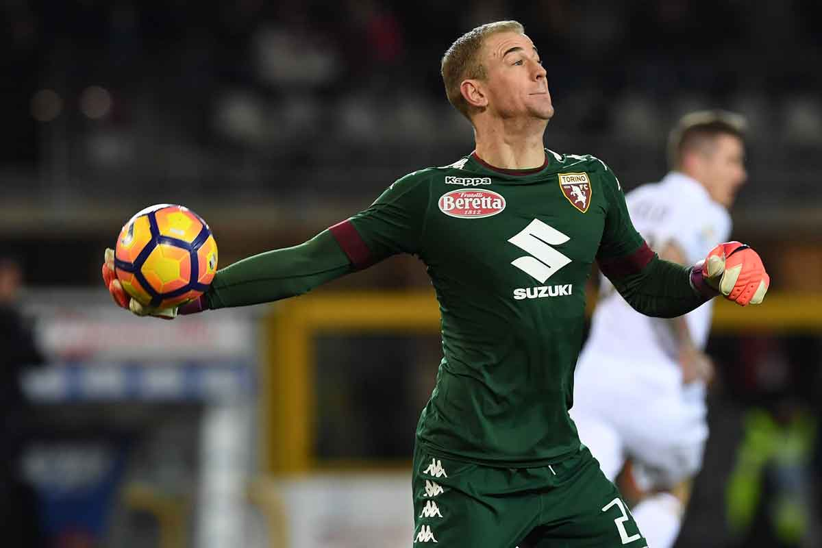 Joe Hart, on loan at Torino from Manchester City