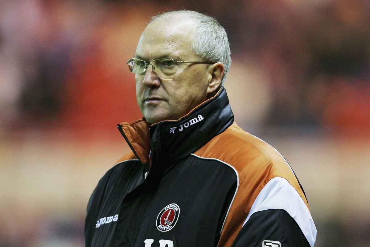 Les Reed as Charlton boss
