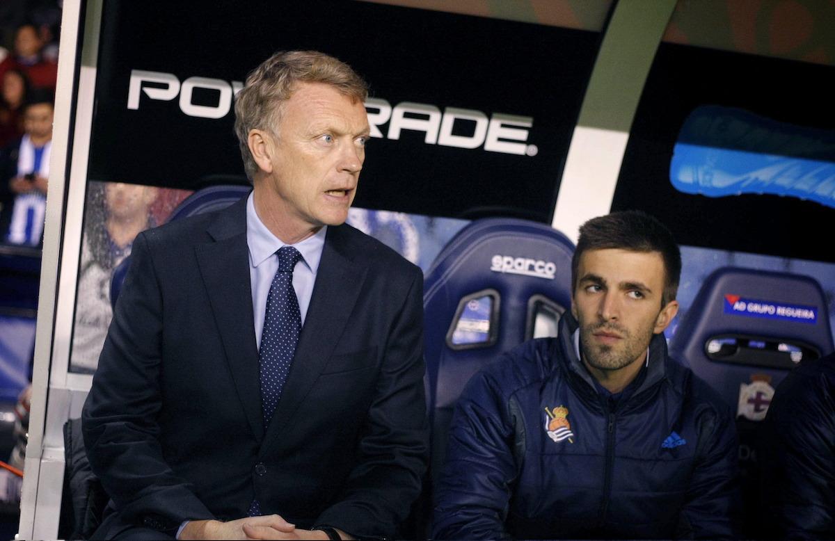 David Moyes was manager of Real Sociedad
