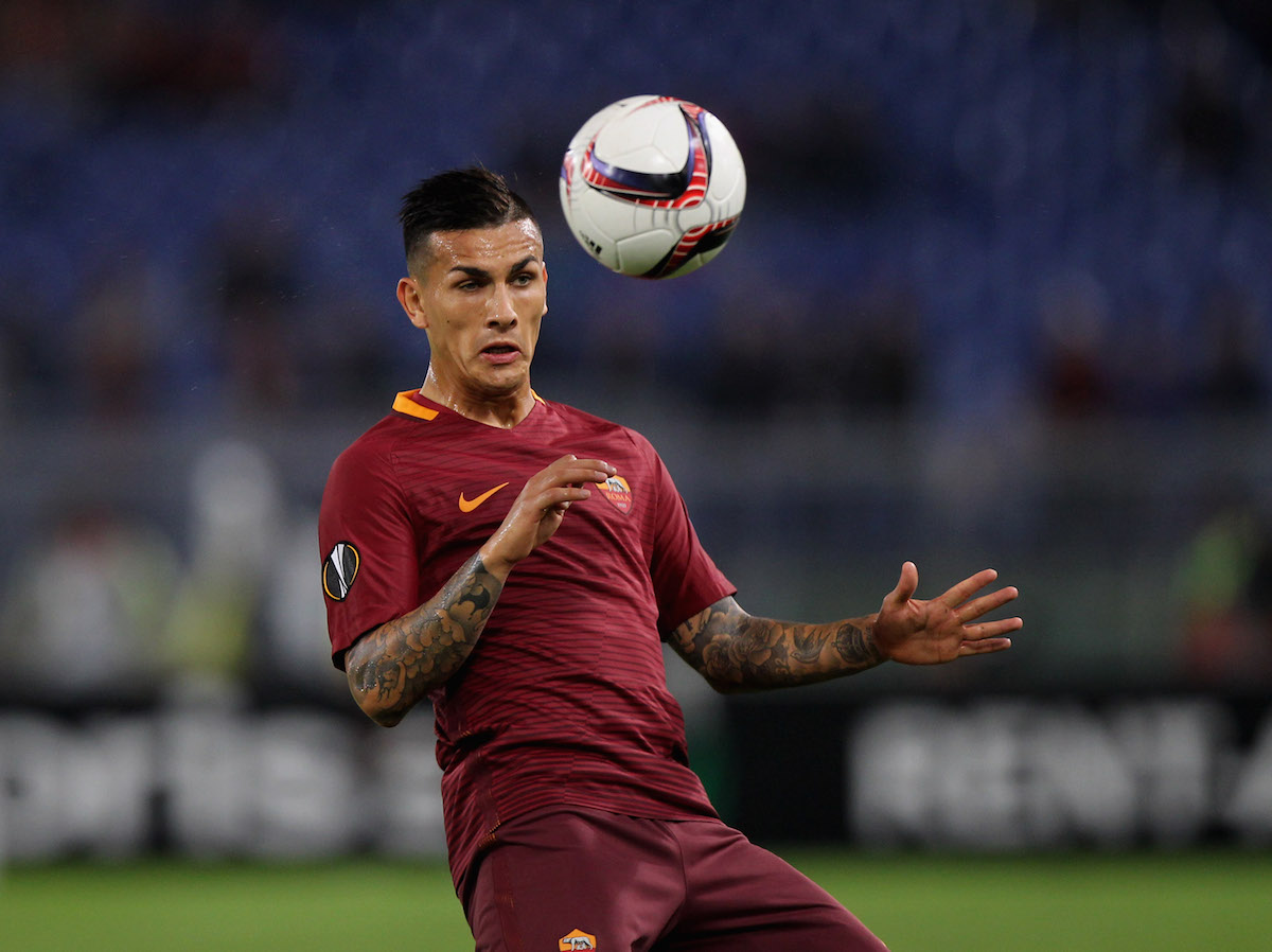 Leandro Paredes of AS Roma