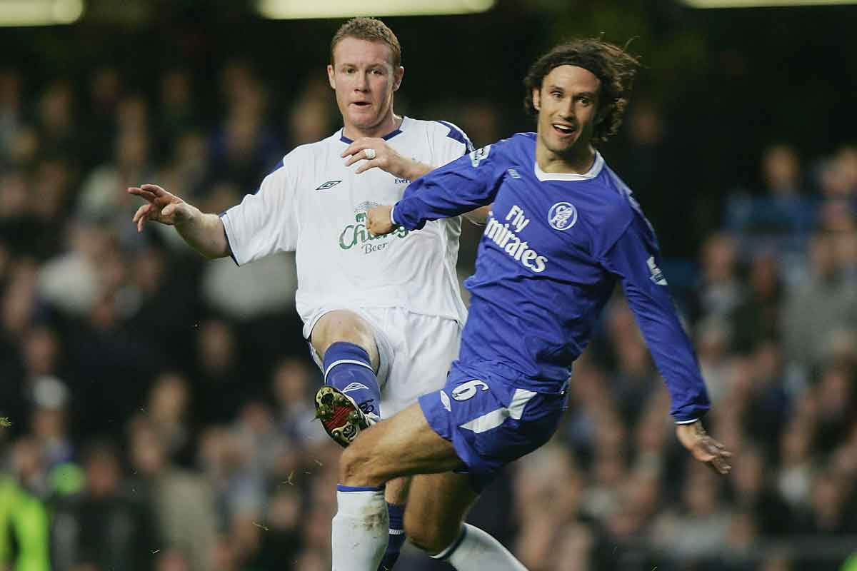 Ricardo Carvalho in action for Chelsea