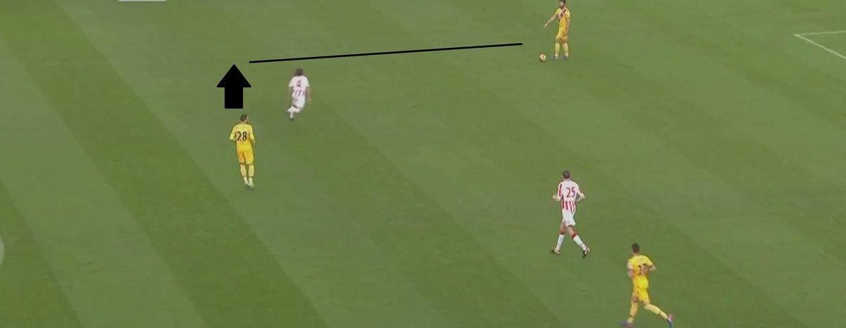 Luka Milivojevic's blind side