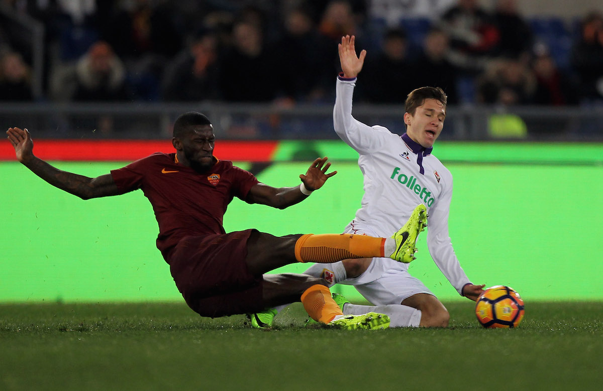 Antonio Rudiger of AS Roma