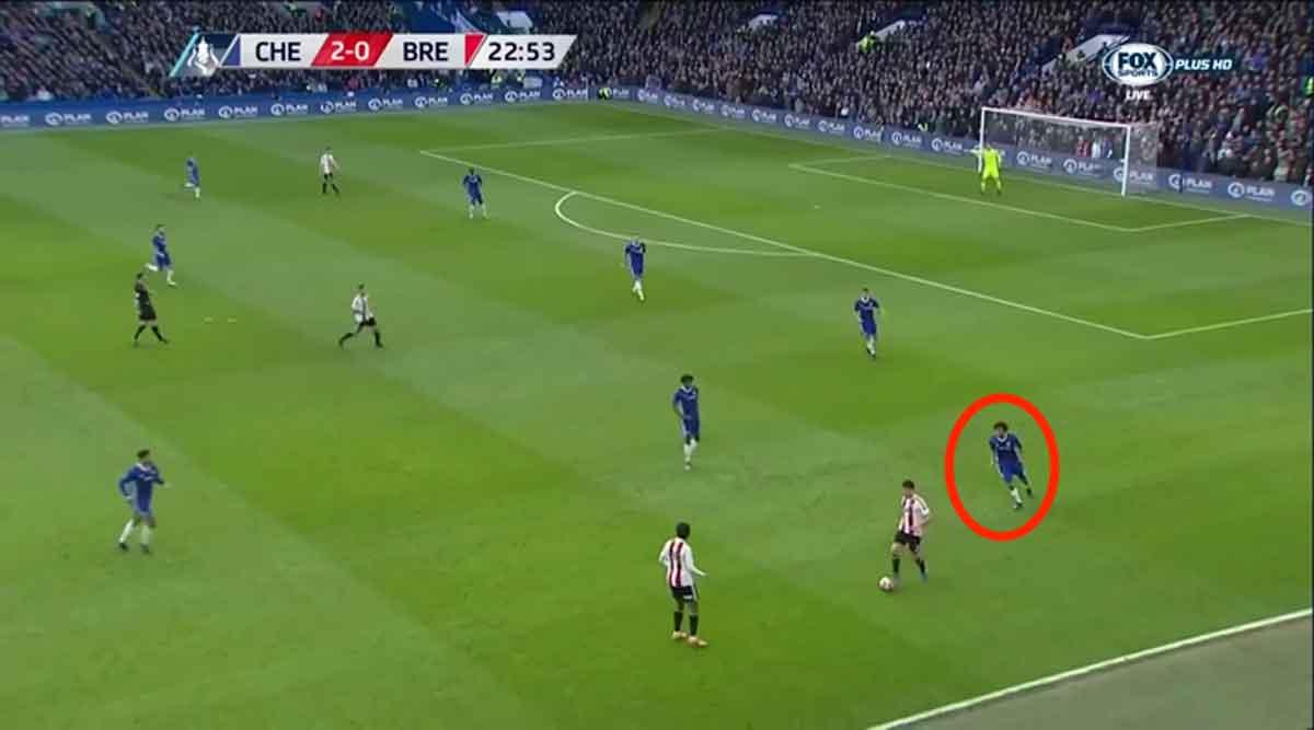 Nathan Ake, Chelsea vs Brentford