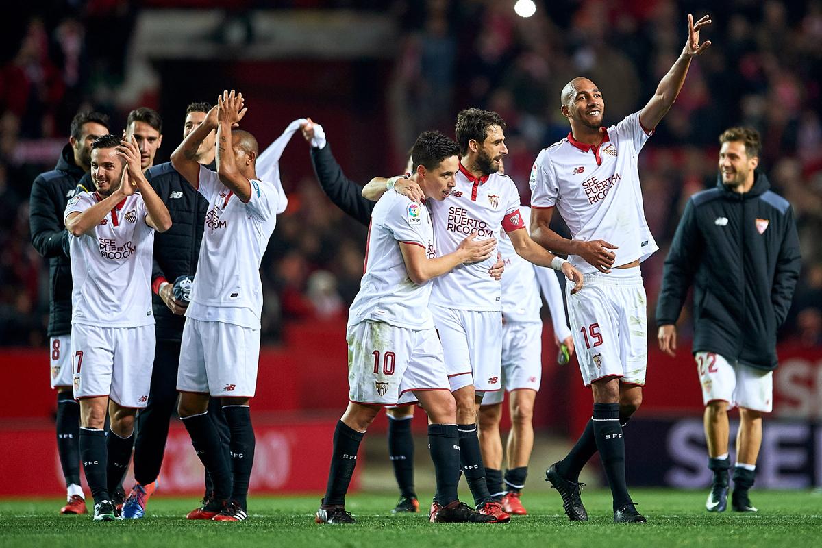 Sevilla face Villarreal