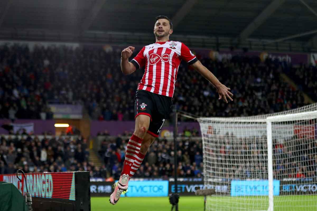 Southampton forward Shane Long