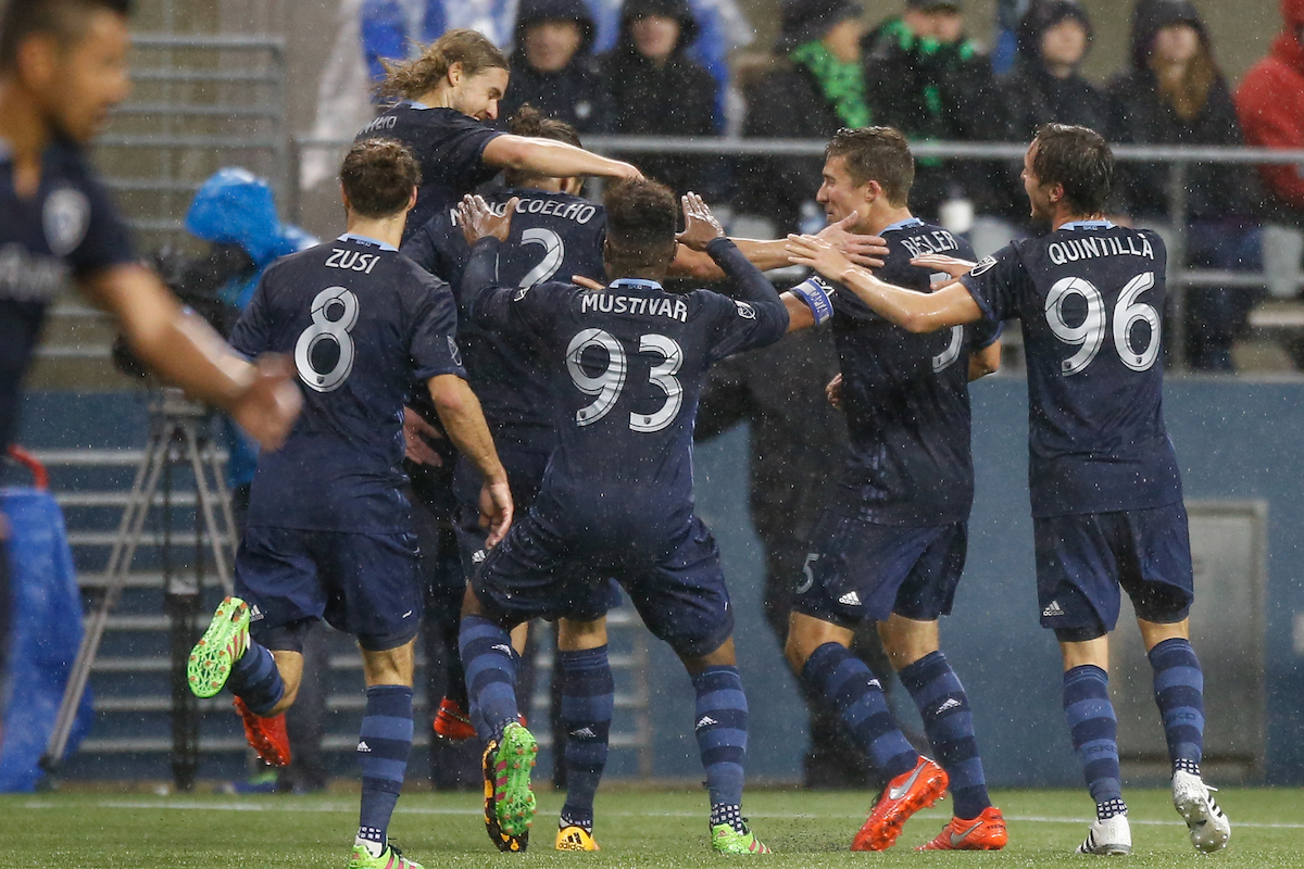 Sporting Kansas City v Seattle Sounders